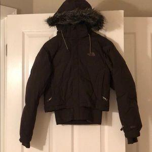 The North Face fur hood jacket